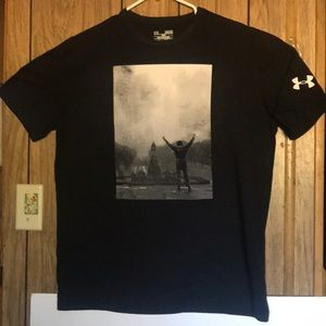 Under armor and Rocky collab shirt